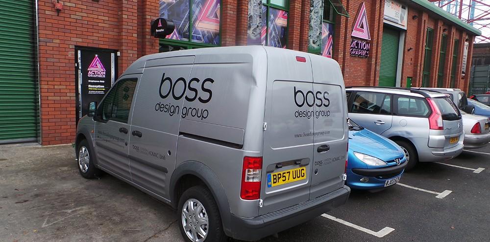 Boss Design Group in Birmingham fleet Graphics