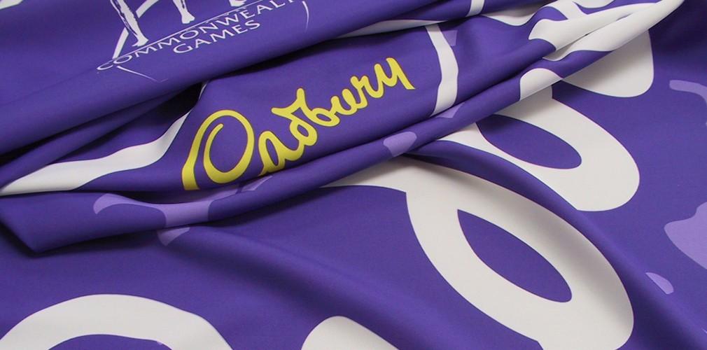 Cadbury Printed Textured Material