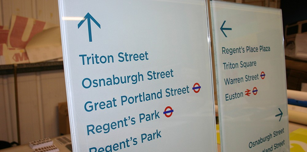 Directional Signage Example