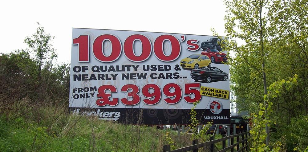 Large format signage in Birmingham