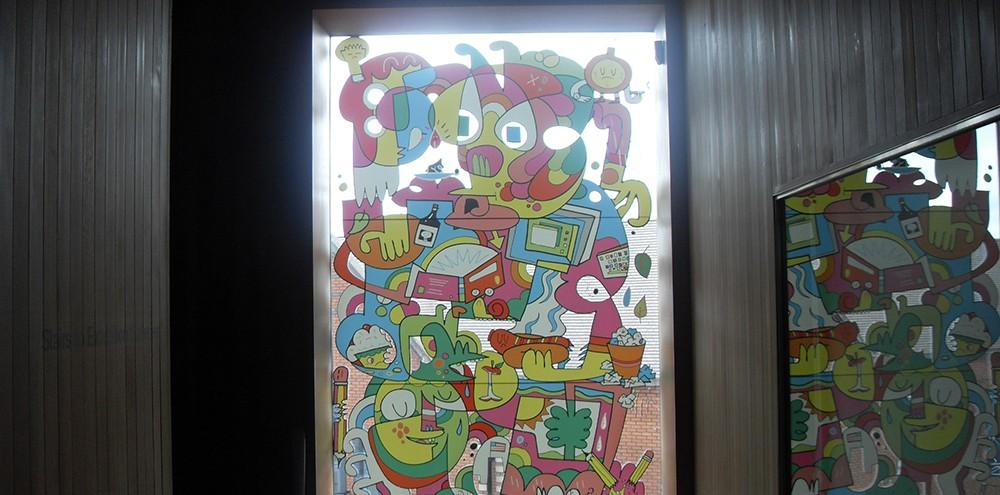 Full colour window graphics in Birmingham