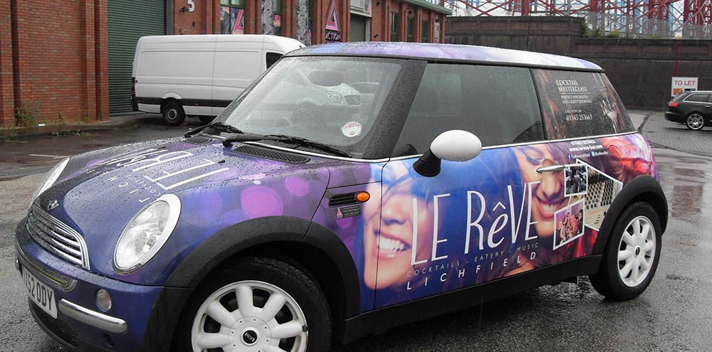 Nightclub Mini Full Printed Wrap