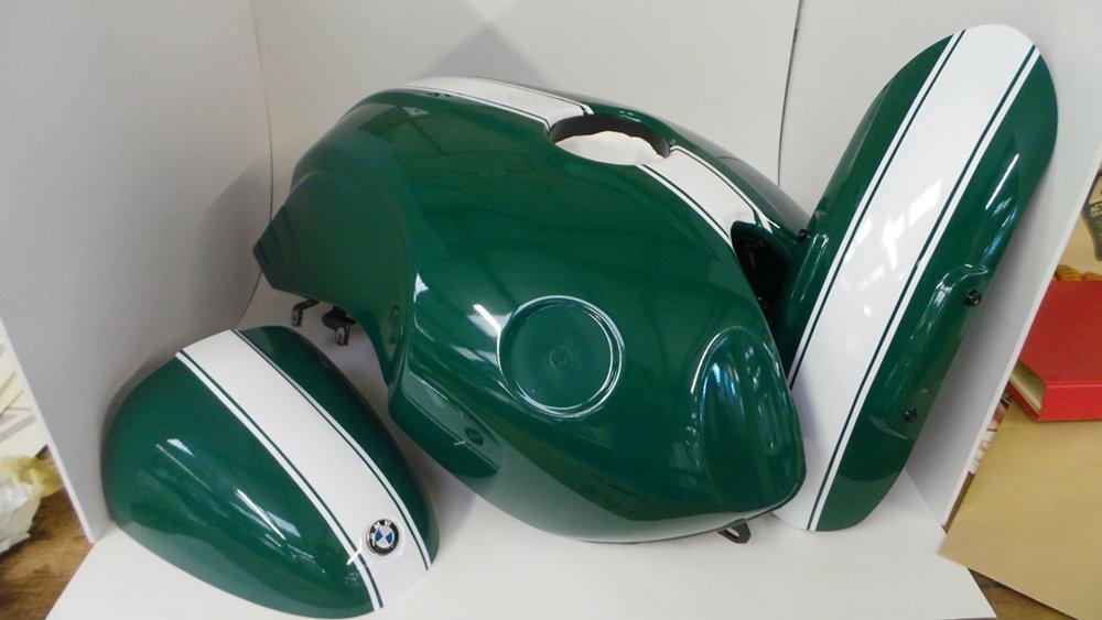 Motorbike Petrol Tank Wrap Action Graphics