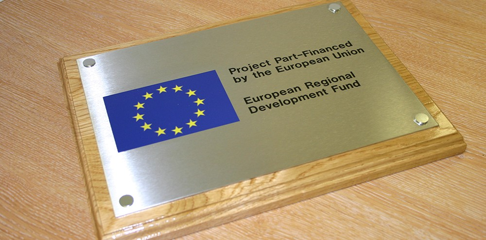 Example of an engraved sign