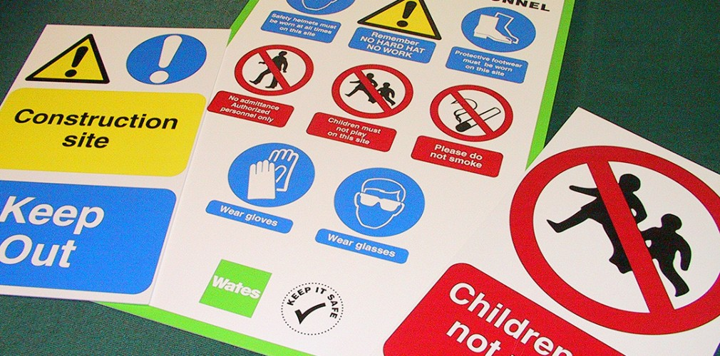 Birmingham health and safety signs