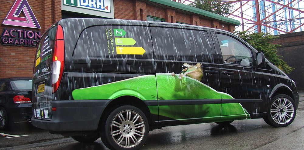 Merc Vito Full Printed Wrap