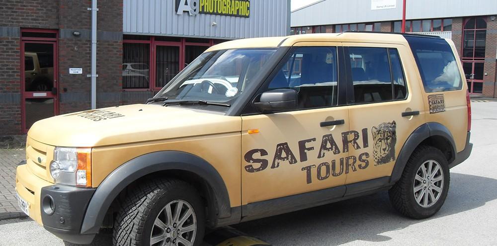 West Midlands Safari Park Pickup Graphics
