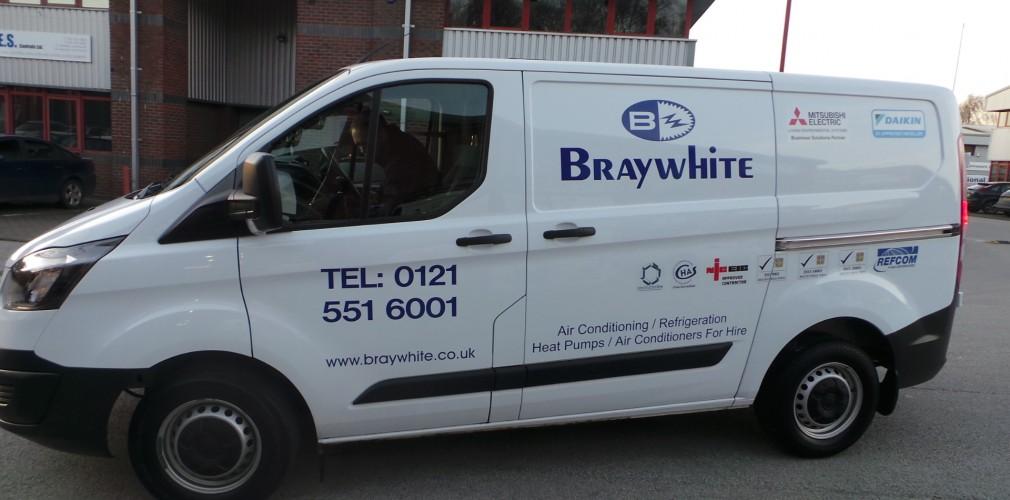 Braywhite Van Vinyls