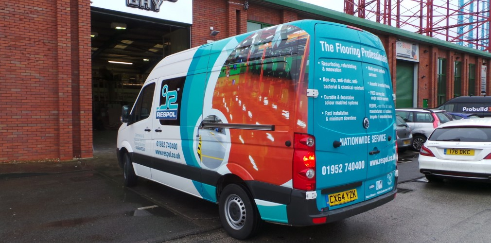 Respol Partial Van Wrap